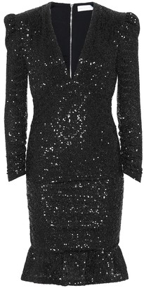 Rebecca Vallance Mona sequined minidress