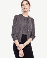 Ann Taylor Cashmere Cropped Cardigan