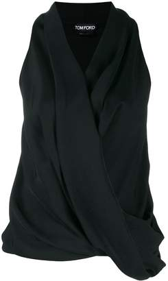 Tom Ford wrap-style tank top