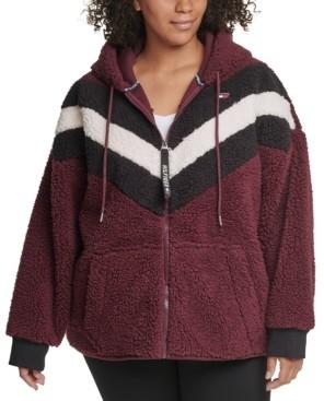Tommy Hilfiger Plus Size Fleece Zip-Up Hoodie