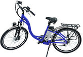 Hover-Way City Cruiser Electric E Bike w/ Pedal Assist & 6 Speed gears