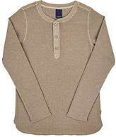 Scotch Shrunk Cotton-Blend Long-Sleeve Henley Shirt