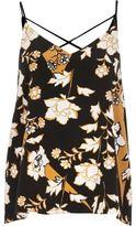 River Island Womens Orange print strappy cami