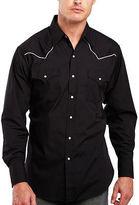 Ely Cattleman Pipe-Yoke Snap Shirt - Big & Tall