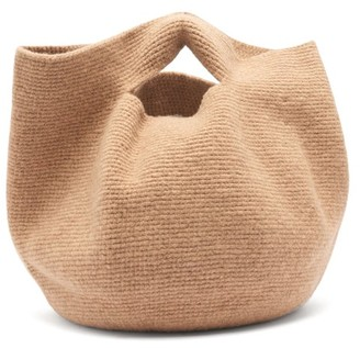 LAUREN MANOOGIAN Bowl Wool Bag - Brown