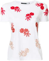 Sportmax embroidered floral T-shirt
