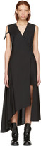 Yang Li Black Asymmetric Cross Over Dress