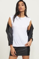 Dynamite Fold-Over Sleeve Tank Top