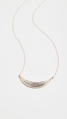 Adina 14k Large Curve Necklace