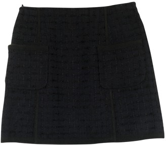 Louis Vuitton Blue Tweed Skirt for Women