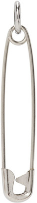Martine Ali Silver Single Pin Earring