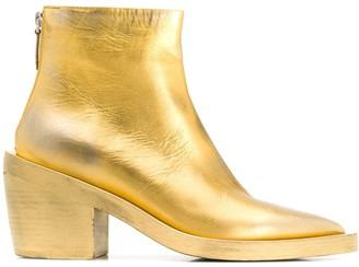 Marsèll Metallic Ankle Boots