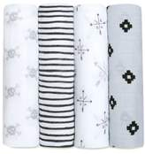 Aden Anais Aden + Anais 4-Pack Classic Swaddling Cloths