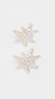 Adina 14k Baguette Star Post Earrings