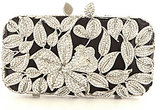 Kate Landry Floral Frame Minaudiere Clutch