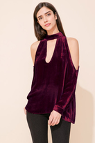 Yumi Kim Hot And Cold Velvet Top