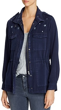 BILLY T Star & Dot Embroidered Anorak