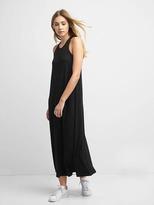Gap Softspun knit racerback maxi dress