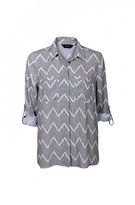 DECJUBA Kaitlin Sheer Shirt