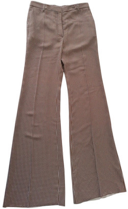 Mulberry Brown Viscose Trousers