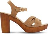 Dune Jani suede platform sandals