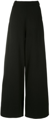 Gloria Coelho Slit Pockets Wide Leg Trousers