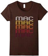 Men's Mac Retro Wordmark Pattern - Vintage Style T-shirt 2XL