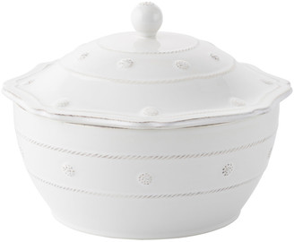 "Juliska Berry & Thread Whitewash 9.5"" Covered Casserole"