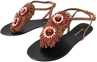 Vanessa Bruno Brown Leather Sandals