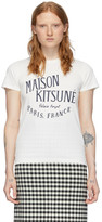 MAISON KITSUNÉ Off-White Palais Royal T-Shirt