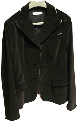 Prada Grey Velvet Jackets