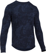 Under Armour Men's Waffle-Texture Long-Sleeve Camo-Print Base Layer Shirt