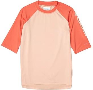 Columbia Kids Sandy Shorestm Short Sleeve Sunguard (Little Kids/Big Kids) (Twilight/African Violet) Kid's Swimwear