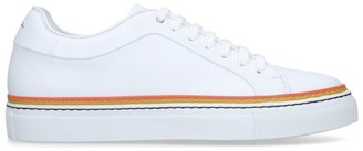 Paul Smith Leather Piped Basso Sneakers