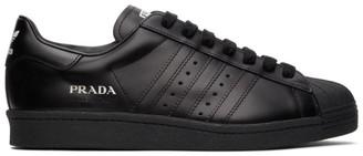 adidas Black Prada Edition Superstar Sneakers