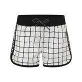 DKNY DKNYGirls Ivory & Black Check Shorts