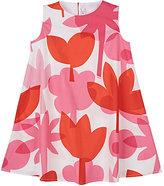Il Gufo Floral-Print Cotton Poplin Dress
