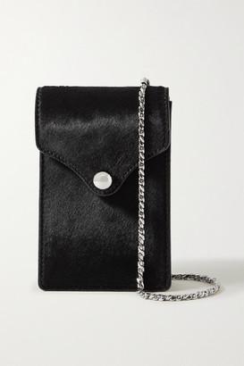 Ratio et Motus Disco Mini Calf Hair Shoulder Bag - Black
