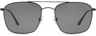 Giorgio Armani Square Frame Tinted Sunglasses