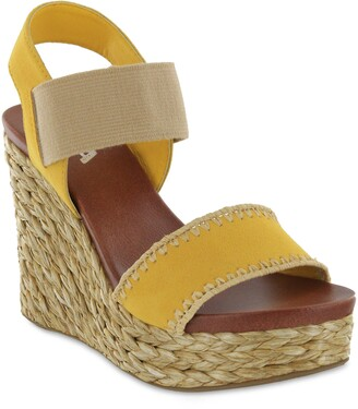 Mia Yessica Platform Wedge Sandal