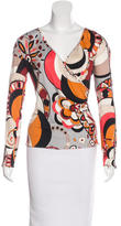 Emilio Pucci Knit Silk Top w/ Tags