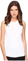 ATM Anthony Thomas Melillo Crew Neck Sleeveless Tank Top Women's Sleeveless