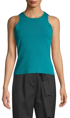 Milly Scalloped Tank