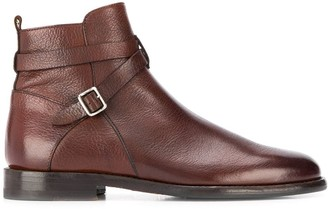 Henderson Baracco Leather Ankle Boots