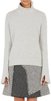 Proenza Schouler Women's Slit-Detail Sweater-LIGHT GREY, GREY