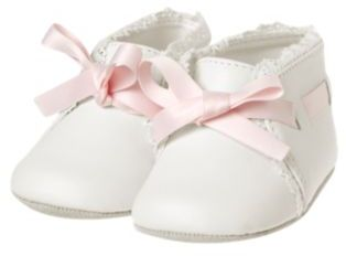 Janie and Jack Interlaced Crib Shoe