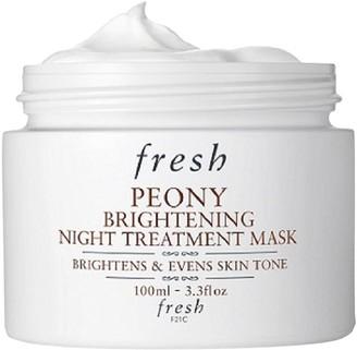 Fresh Peony Brightening Night Treatment Mask, 100ml