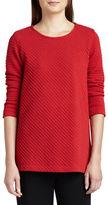 Caroline Rose Ottoman Knit 3/4-Sleeve Tunic, Petite