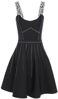 Maje Flared Jacquard-knit Dress