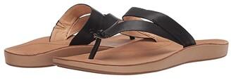 OluKai Kaekae Ko'o (Tapa/Golden Sand) Women's Sandals